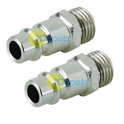 Dapetz /® Air Line Hose Connector Fitting Female Quick Release 3//8 inch BSP Female 2pk