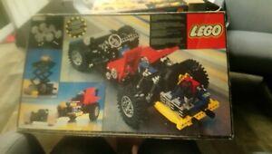 Lego 8860 Technic Auto Car Chassis von 1980 leerkarton kein steine dabei - Berlin, Deutschland - Lego 8860 Technic Auto Car Chassis von 1980 leerkarton kein steine dabei - Berlin, Deutschland