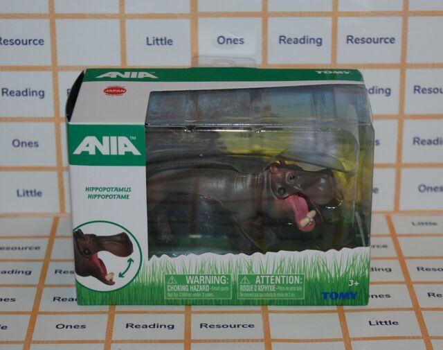 Ania HIPPOPOTAMUS (Hippo) Animal Figure TOMY T16048