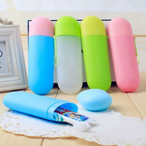 Portable-Plastic-Toothbrush-BottleBathroom-Holder-Cup-Travel-Storage-Home-Box