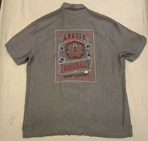Tommy Bahama Houston Astros World Champions Hawaiian Shirt L Silk Mens NWT $175