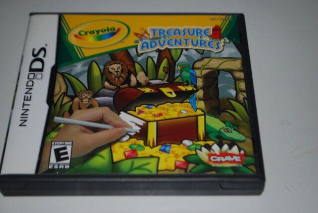 Crayola Treasure Adventures Nintendo DS, 2007 Video Game