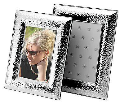 Bilderrahmen Silber Fotorahmen versilbert  Metall  Rahmen Foto 10x15 13x18 neu