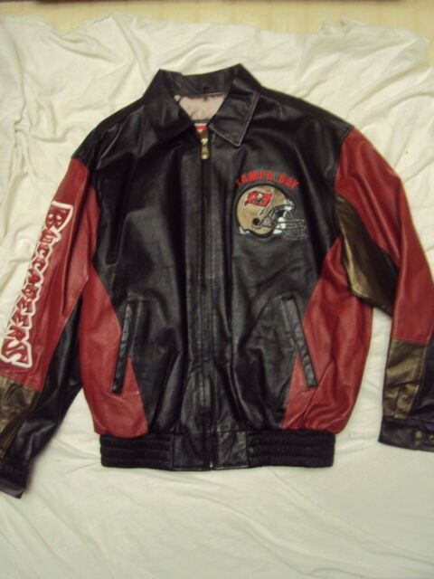 Tampa Bay Bucs Leather Jacket G-III Adult Size Large New Without Tags! de71aa417