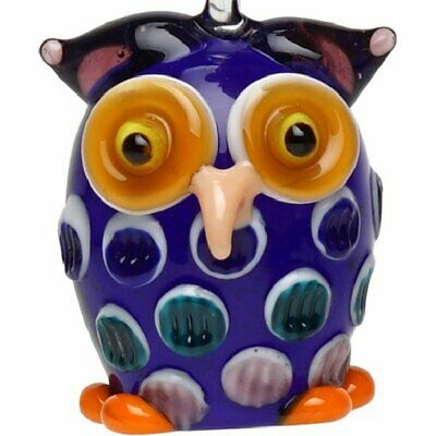Glass Blue Owl Hanging Ornament 791832169941 Ebay