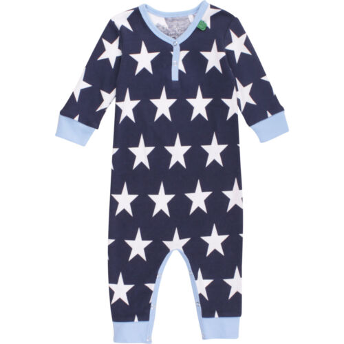 Fred/'s World Bodysuit Strampler allover Sterne blau 56 62 68 74 80 86 92 98 NEU