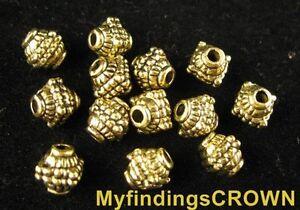 60PCS  Antiqued gold 7 holes spacer bar FC1123