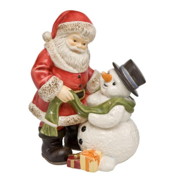 Goebel Weihnachtsmann Schneemanns Bescherung Limitiert Neuheit 2015 21 cm hoch