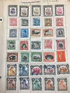 1 Page Rare 35 Anciens Timbres Affranchissement Nyassa Mixtes Dans Le Monde Entier Timbres Cook Island-afficher Le Titre D'origine Bon Pour L'éNergie Et La Rate