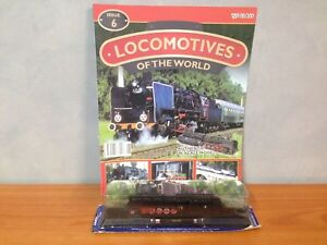 Locomotives-of-the-World-Issue-6-Authentic-034-N-034-Scale-Model-Train