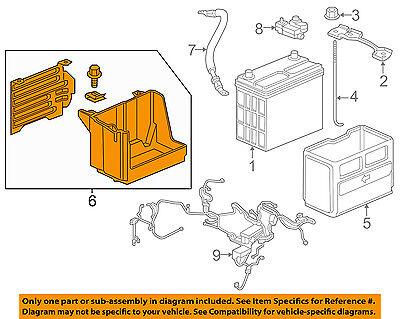 HONDA OEM 17-18 CR-V 1.5L-L4-Battery Box Tray Bracket 31521TLAA00