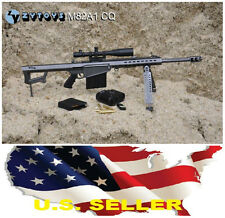 "1/6 Sniper Rifle Barrett M82A1 CQ 12"" figure weapon for DDI Hot toys Phicen USA"