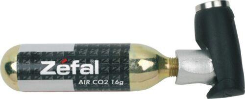 Zéfal EZ Push Fahrrad CO2-Miniluftpumpe AV//DV//SV mit Gewinde
