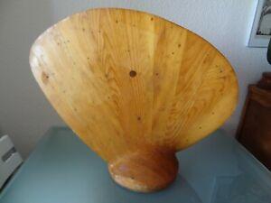 ancien moule modèle à l'échelle d'hélice de bateau en bois charpentier de marine