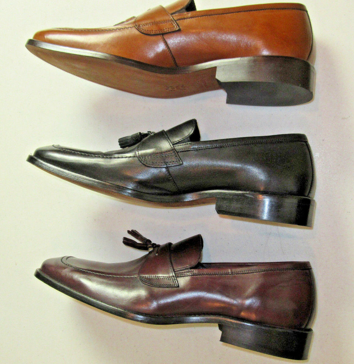 145 New Johnston & Murphy J Murphy slip on on on tassel Novick schuhe 10 M Burghundy fe174d