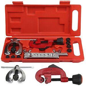 10x-Brake-Pipe-Flaring-Kit-Fuel-Repair-Tool-Set-Tube-Cutter-Storage-Box