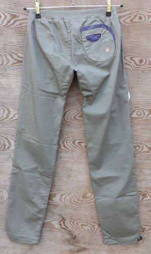 Kletterhose warm grey E9 Rapa leichte Damenhose