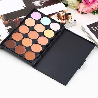 15 Colors Professional Salon/Party Contour Face Cream Makeup Palette EA