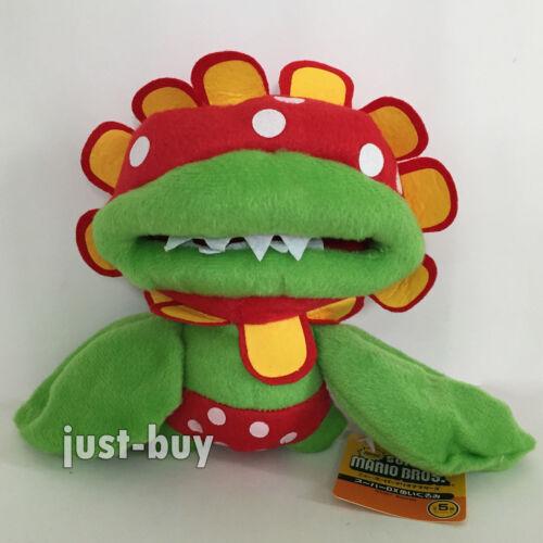 "New Super Mario Sunshine Plush Petey Piranha Soft Toy Stuffed Animal Doll 7/"""