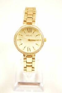 Relic-ZR34424-Adaline-Crystal-Accent-Gold-Tone-Bracelet-Ladies-Watch