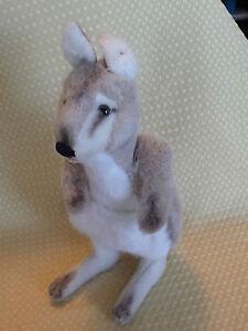 Steiff-Kangaroo-Mohair-Plush-no-ID-no-Joey