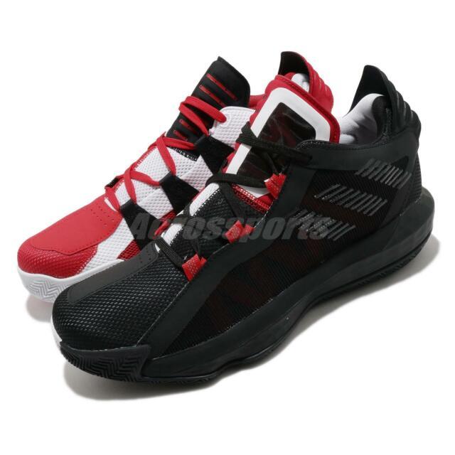 adidas Dame 4 Size 13.5 Red Black Gum