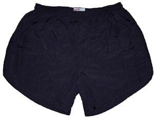 Black-Nylon-Military-P-E-PT-Running-Volleyball-Shorts-by-Soffe-Men-039-s-2XL