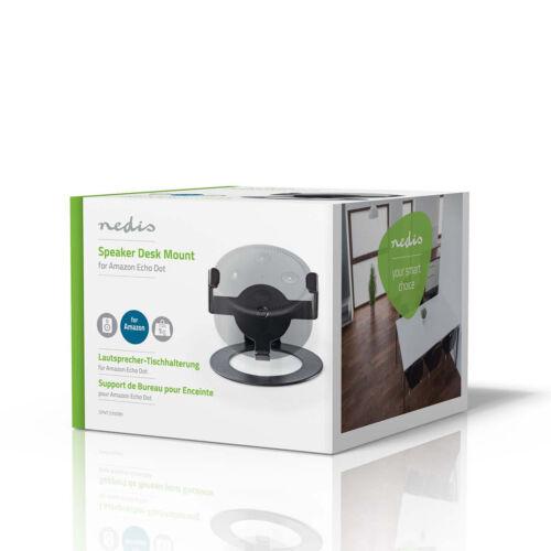 Nedis Speaker Desk Table Top Stand Bracket For Amazon Echo Dot  Portable Max 1kg