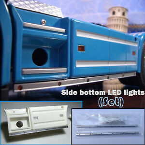 Luces-LED-Inferior-lateral-para-TAMIYA-1-14-SCANIA-56323-56318-R470-620-Camion-Tractor