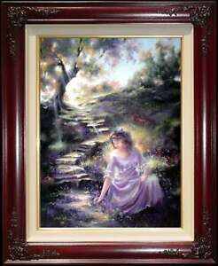 Marty-Bell-Where-Violets-Grow-24x18-A-P-Limited-Edition-Kinkade-inspired