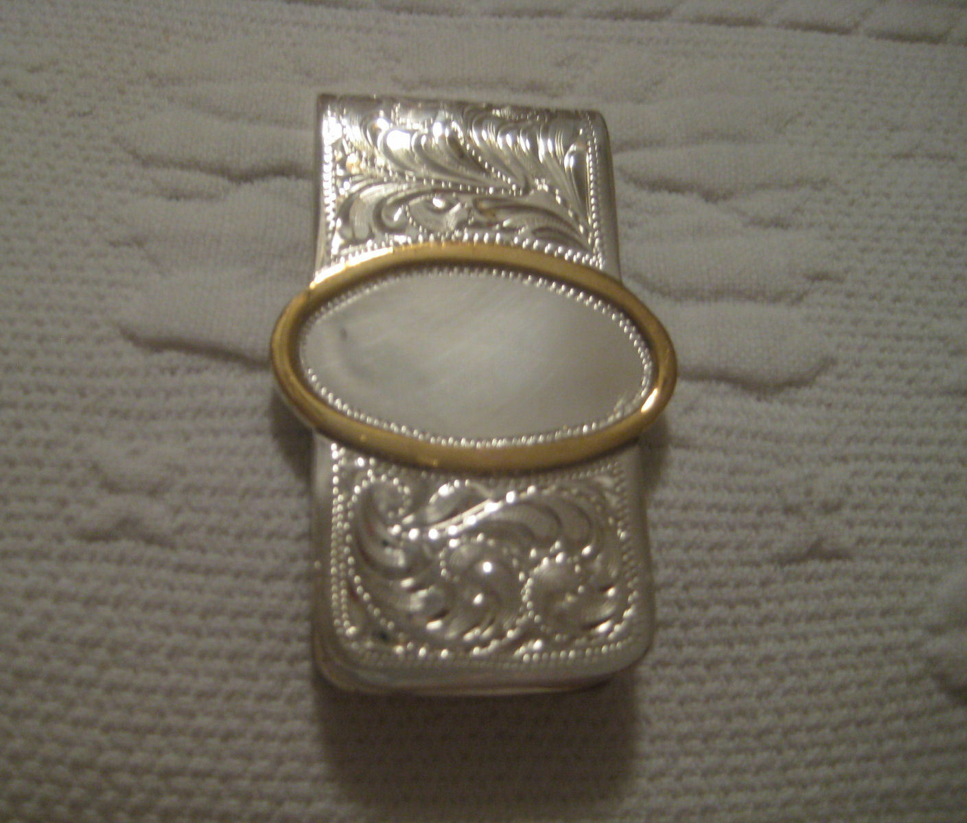 Western superposición de plata dinegro Clip-Prod.