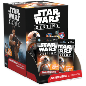 Star Wars Destiny Awakenings Booster Box FACTORY SEALED Fantasy Flight Games FFG