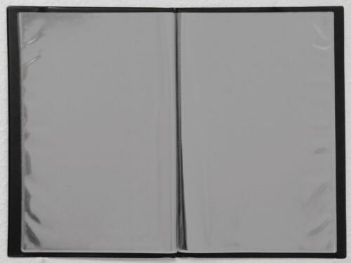 Zeugnismappe A4 dunkelblau Kunstleder wattiert Zeugnisse Einschulung