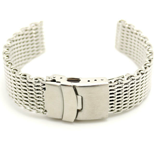 18/20/22/24mm Acier Inoxydable Bracelets de Montres Watch Bande Femmes Hommes