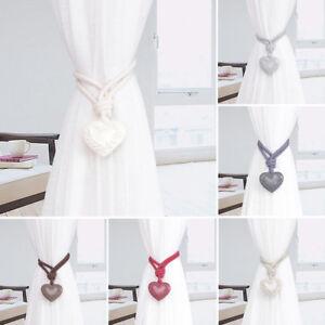 Eg-Creative-C-ur-Fenetre-Attache-Rideau-Embrasse-en-Corde-Support-Decoration