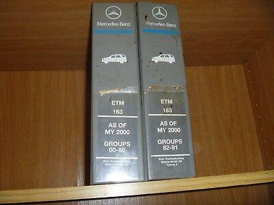 2001 Mercedes Benz ML320 ML350 ML430 ML500 ML55 Electrical ...