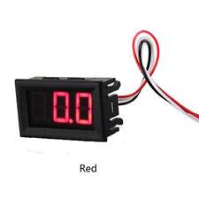 Mini voltmeter tester Digital voltage test battery DC 0-30V red auto carL RC