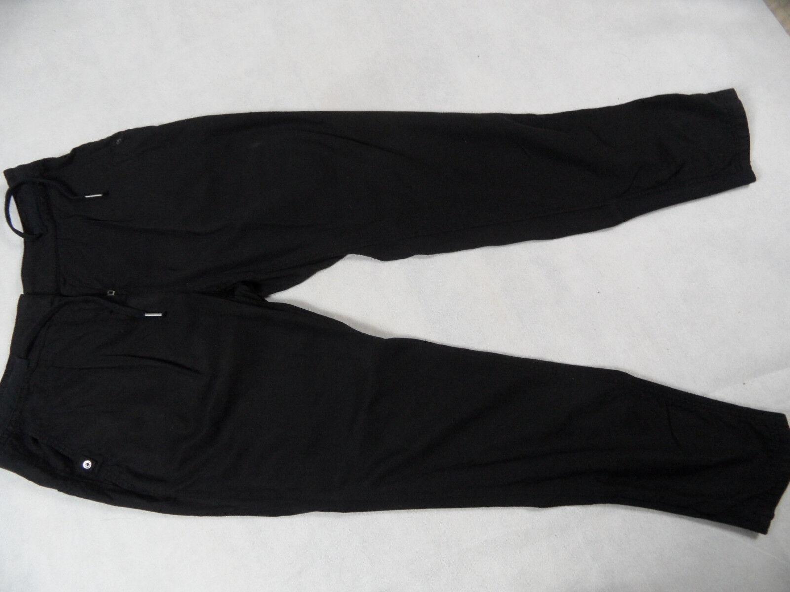 MARC CAIN schöne leichte Freizeithose black Gr. N3 TOP BI1118
