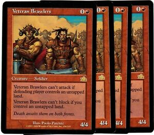 Veteran-Brawlers-x4-Magic-the-Gathering-Prophecy