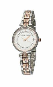 Bnew-ANNE-KLEIN-Women-039-s-Crystal-Accented-Bracelet-Watch