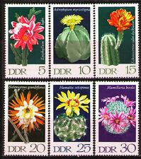 DDR 1970 Sc1251-56  Mi1625-30 3.00 MiEu  6v  mnh  Cactus Plants