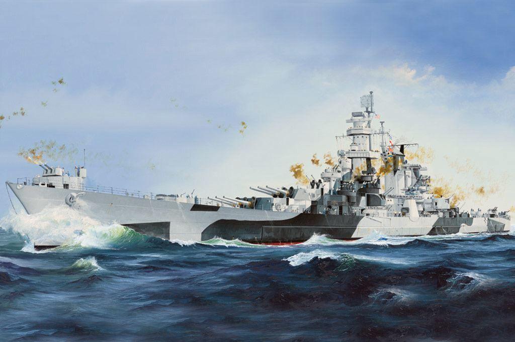 Hobby Boss USS Alaska CB-1 Cruiser Warship Battleship 86513 1 350 Plastic Model