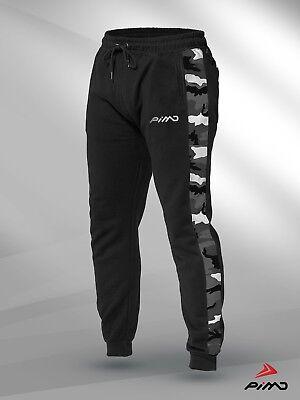 PIMD Prime Burgundy Mens Training Joggers Sweat Pants Gym Sports Sweatpants