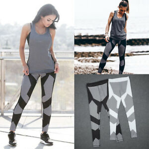 Womens-Yoga-Workout-Gym-Leggings-Fitness-Running-Sports-Pants-Stretch-Trouser