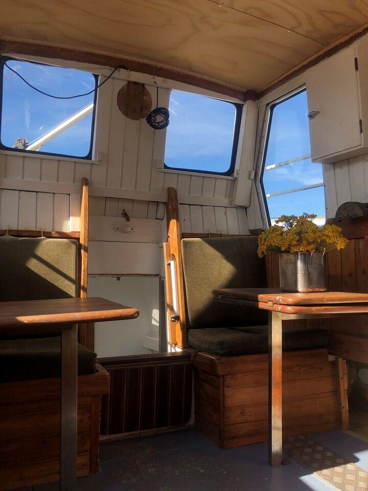 Charmerende båd i København SV