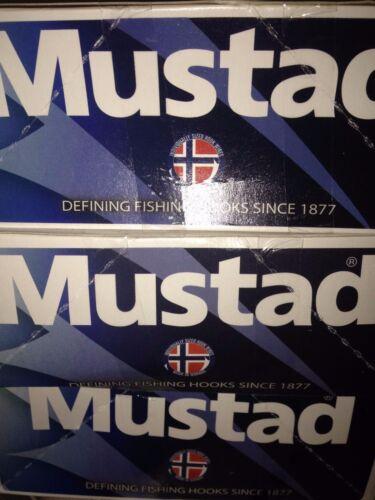 50 Mustad 5//0 Circle Hooks Demon Ultrapoint 39950NP-BL 3X Perfect Live Bait Bulk
