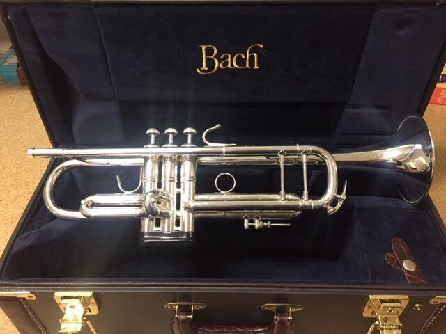 Nueva Trompeta Trompeta Trompeta Bach 180S72 BB de demostración  bienvenido a comprar