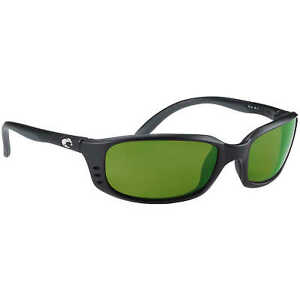 8e5ef409ba60 Costa Del Mar Brine Polarized Sunglasses BR11GMGLP Black/grn Mirror 400  Glass