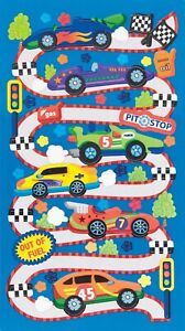 Race-Car-Rama-Stickers-Scrapbook-Planner-Papercraft-Craft-Party-Vehicles-Invites