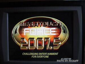 Merit-Megatouch-Force-2007-5-UPGRADE-Hard-drive-and-KEY